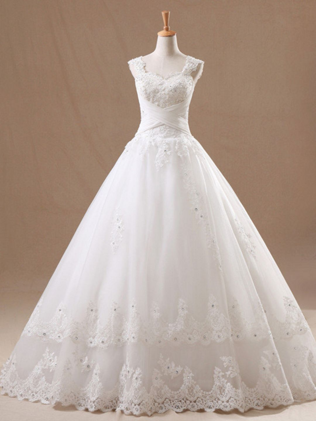 8e4b64a0b0 Gloomy 25+ Most Wonderful Wedding Ball Gown with Cathedral Trains Ideas  https