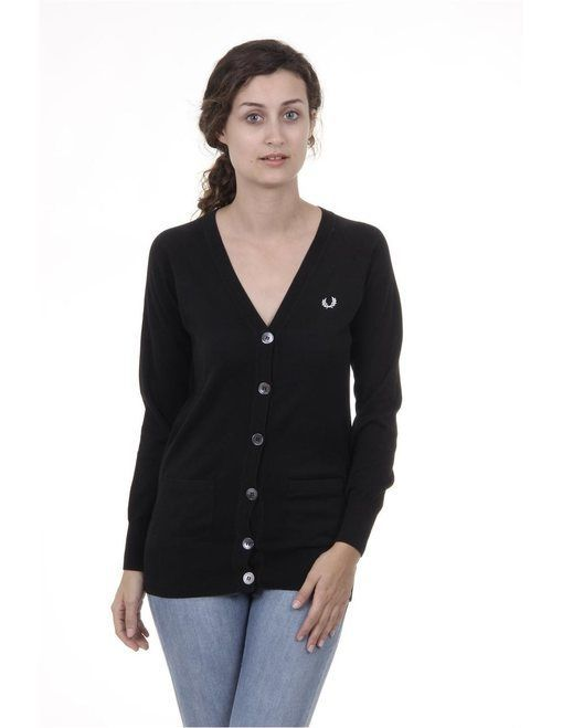 Fred Perry Womens Cardigan 31402191 9102 (Fred Perry Womens ...