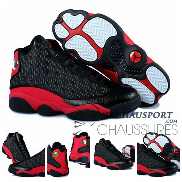 basket air jordan noir et rouge