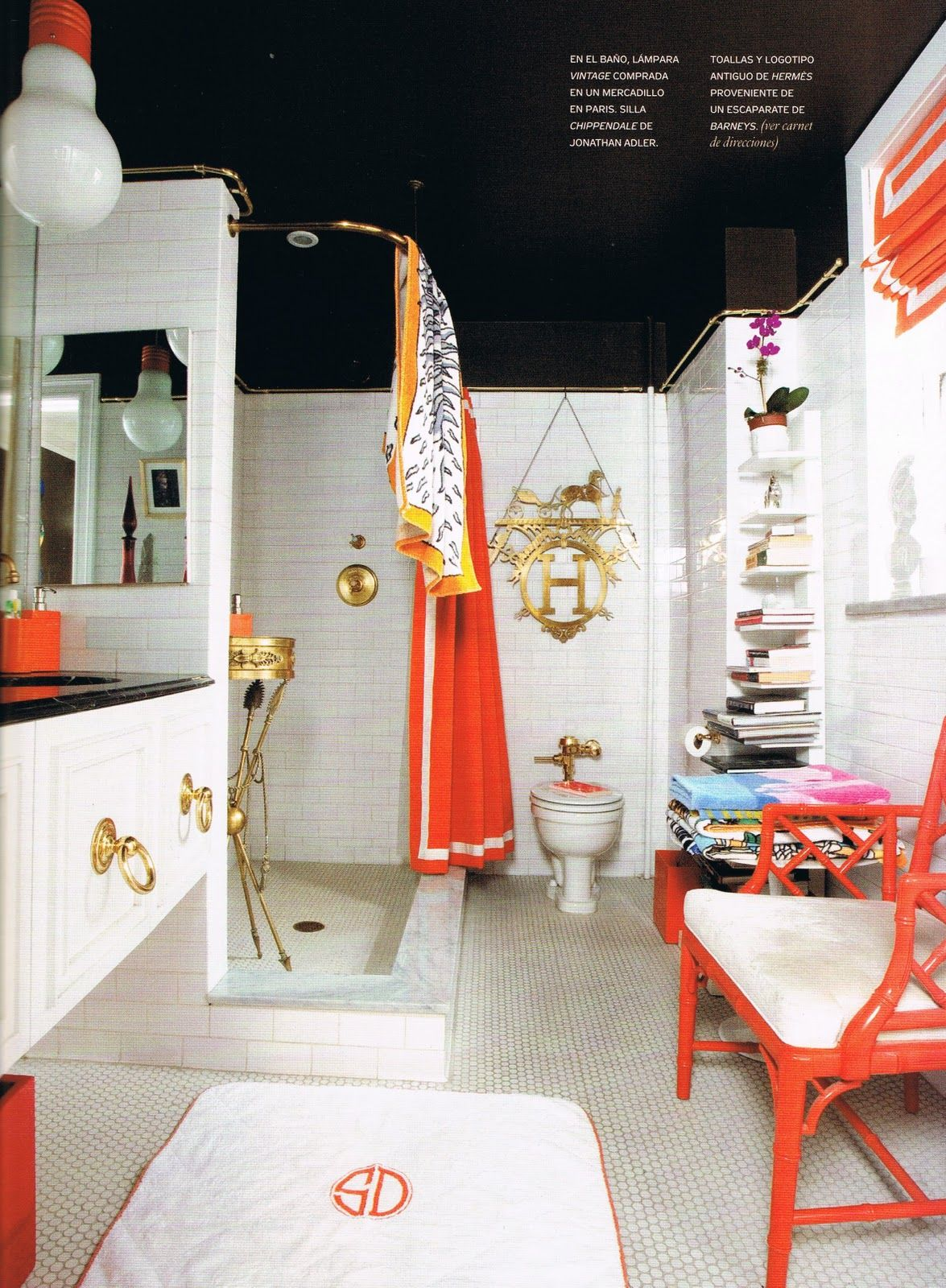 Bon Chair Jonathan Adleru0027s Bathroom