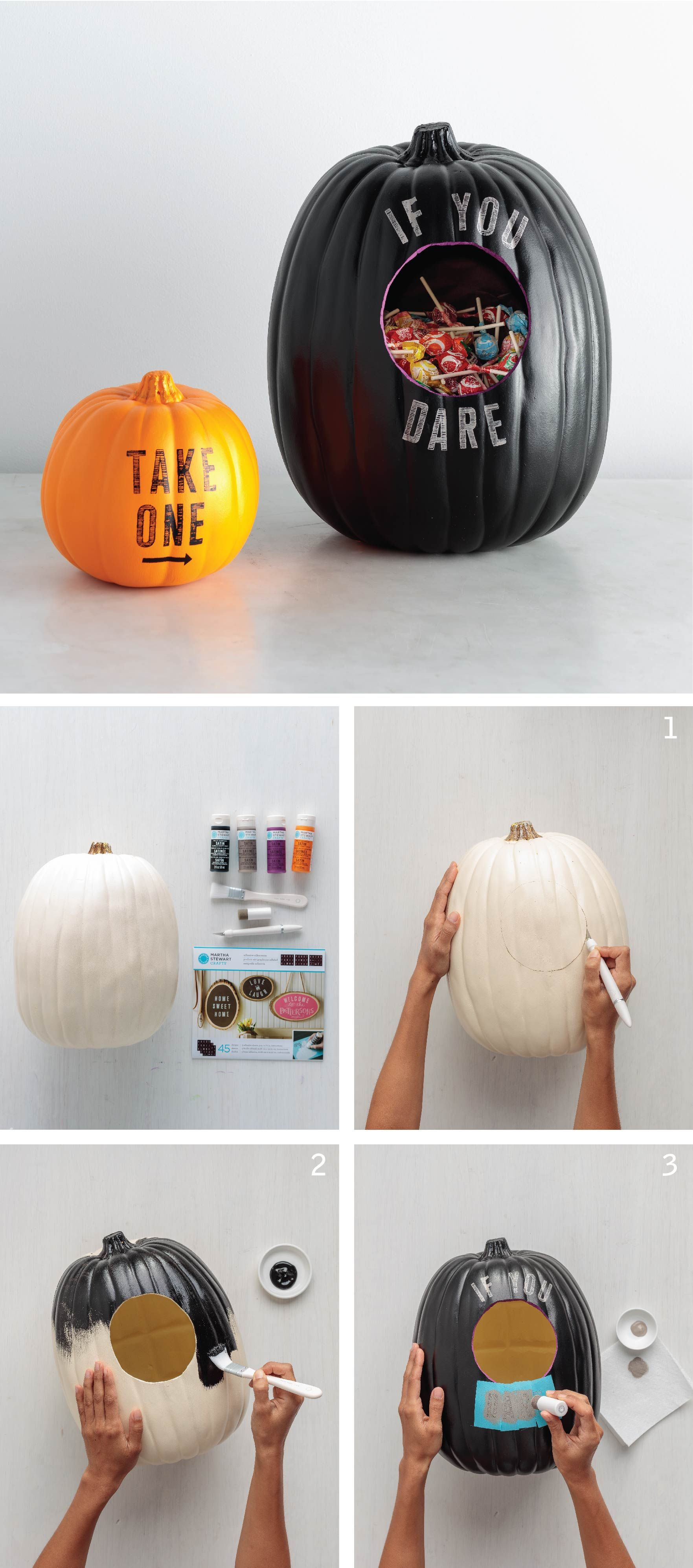 Combine your Halloween décor and candy bowl into one! Get the ...