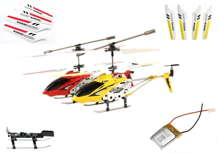 Details about Syma S107G RC Helicopter Spare Parts - UK