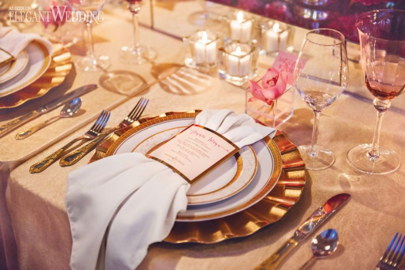 Gold Charger Plate, Gold Place Setting, Elegant Wedding Table ...