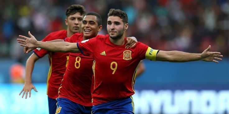 Fifa U 17 World Cup 2017 Abel Ruiz Led Spain Showed Their True Pedigree To End I World Cup 2017 Fifa World Cup World Cup