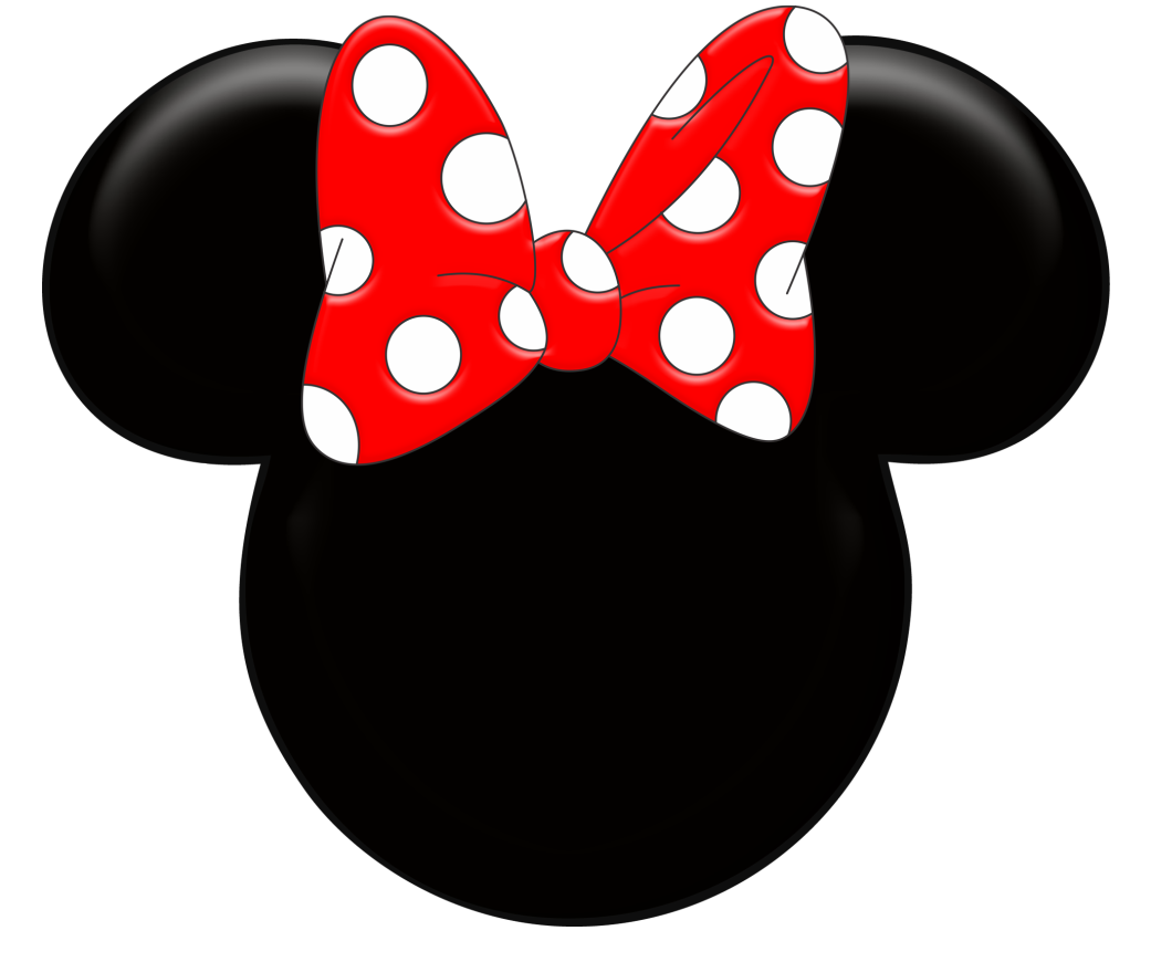 Minnie And Mickey Silhouette Clipart