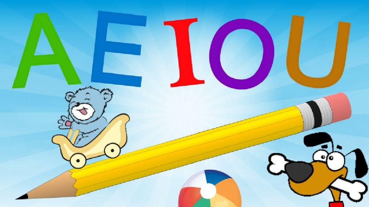 Las Vocales A E I O U Para Ninos Con Rimas Aprende A Escribir Aprender A Escribir Letras De Canciones Infantiles Vocal E