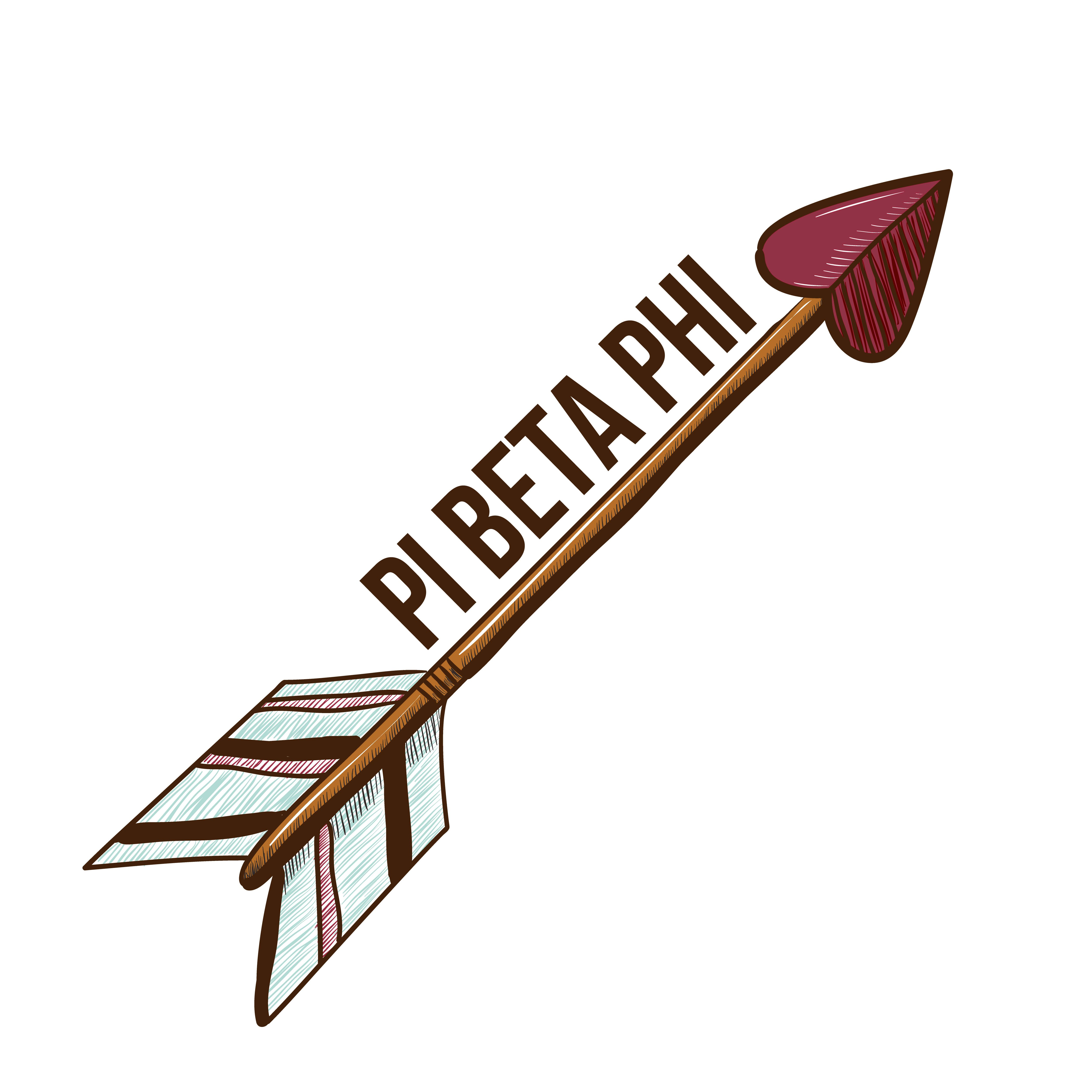 Alpha Phi College Arrow Decal