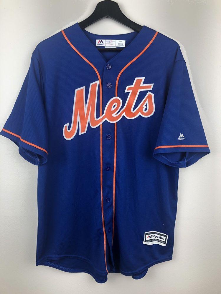 buy popular c0bdd 300ad MLB New York Mets Baseball Jersey Size L Free Shipping ...
