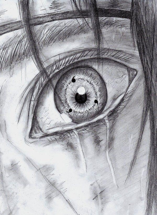 Sharingan Eye Drawing : sharingan, drawing, Drawings
