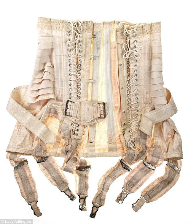 ef6c8aa0c3 The underwear that helped shape women s figures throughout the ages ...