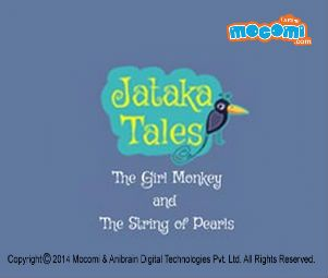 Jataka Tales: The Girl Monkey and The String of Pearls. For more interesting #JatakaTales for Kids, visit: http://mocomi.com/fun/stories/jataka-tales/