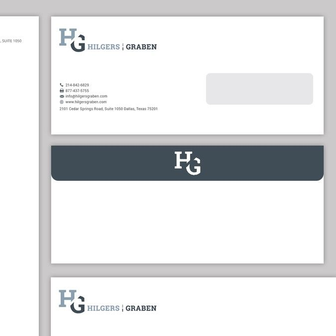 create letterhead template and envelopes for growing law firm by