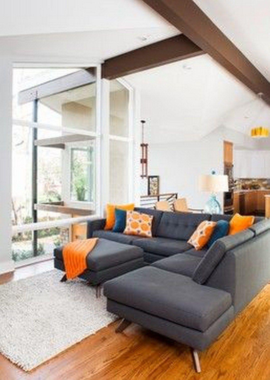 mid century modern living room interior design home