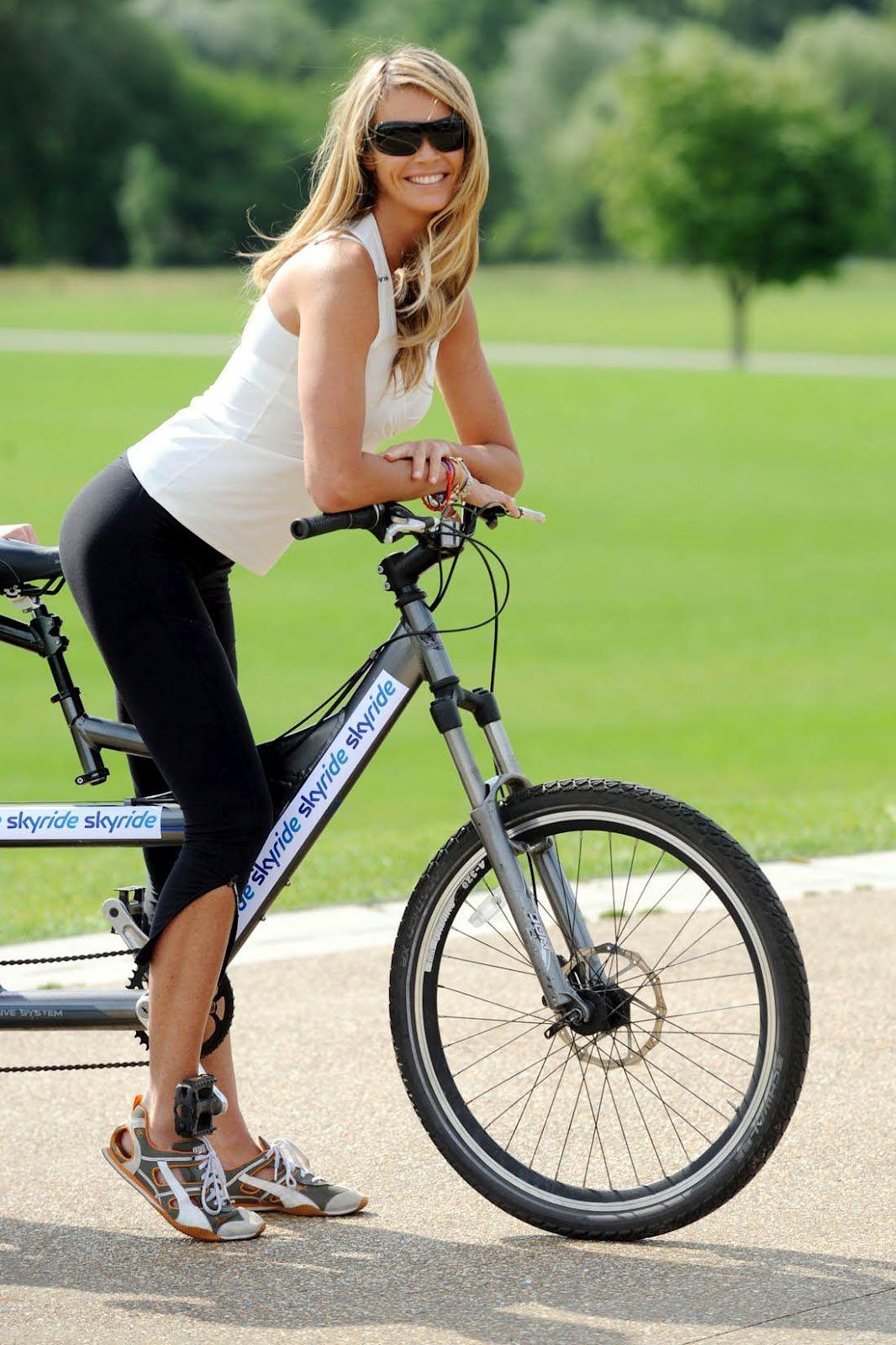 Elle Macpherson On Wheels Bike Pinterest Jersey Sepeda Downhill Trail Tld White Simple