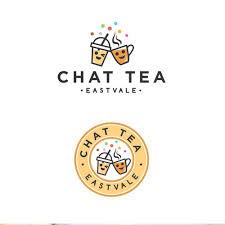 Cotton Candy Logo 99designs Google Search Tea Logo Bubble Tea Boba Candy Logo