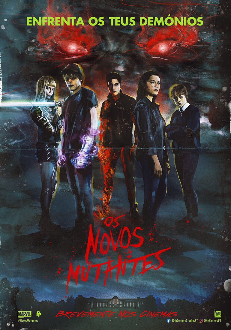 Os Novos Mutantes Novos Mutantes Marvel Marvel Filmes