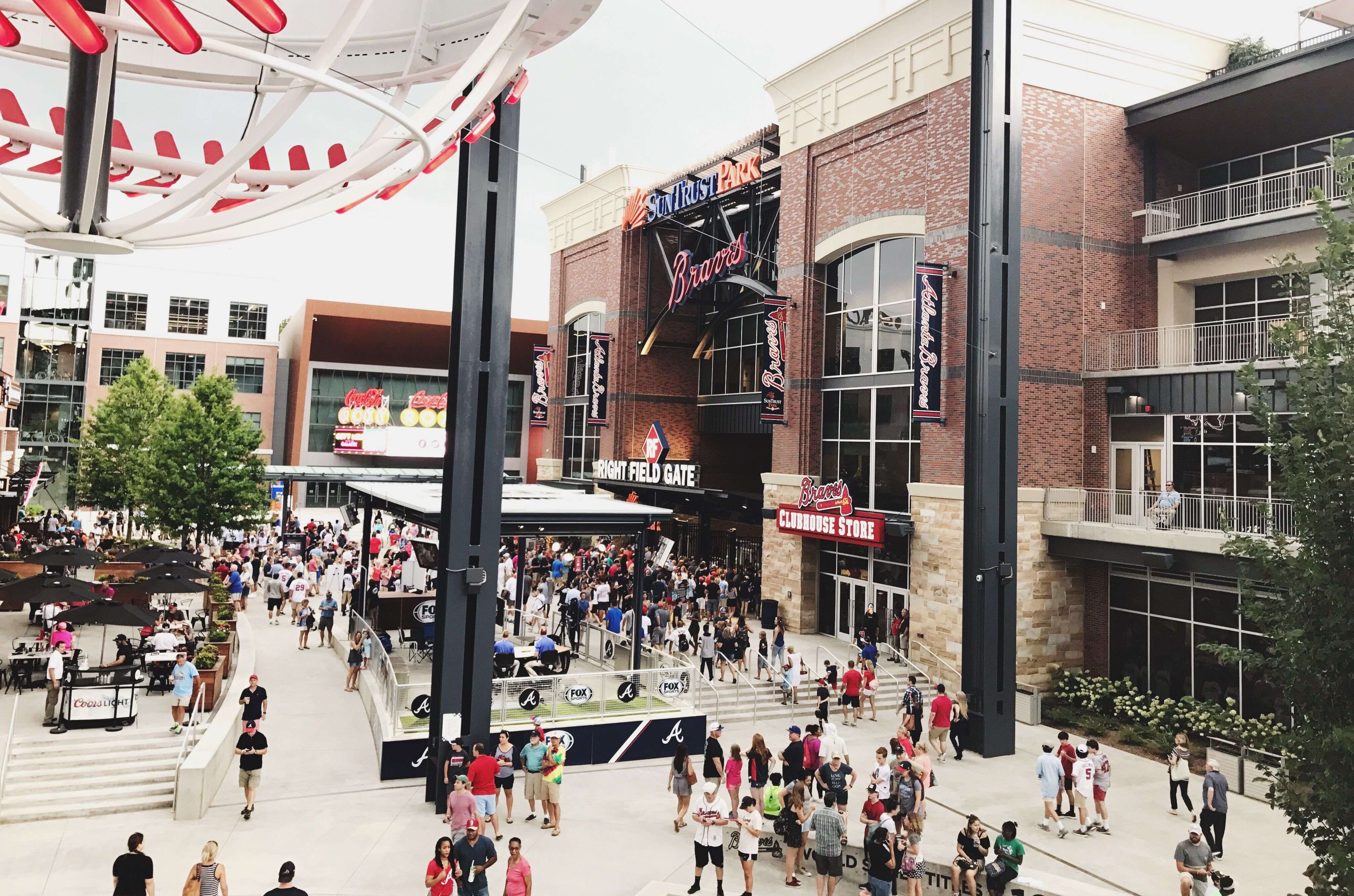 Atlanta Braves Game 10 Things To Do With Kids At Suntrust Park Suntrust Park Braves Game Atlanta Braves Game