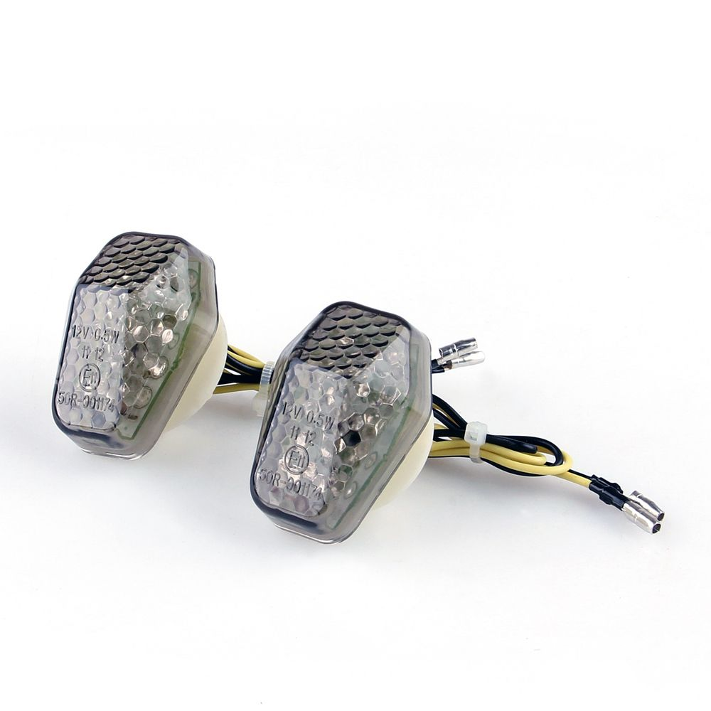 Clear Flush Mount Turn Signal Light For Suzuki GSXR600 GSXR750 1000 SV650 Bandti
