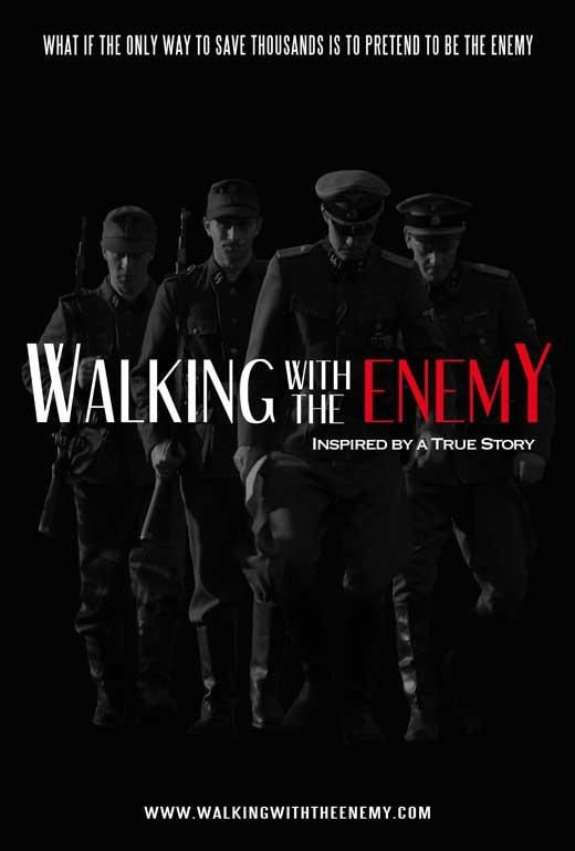 Walking With The Enemy 27x40 Movie Poster 2014 Movie Posters Enemy Jonas Armstrong
