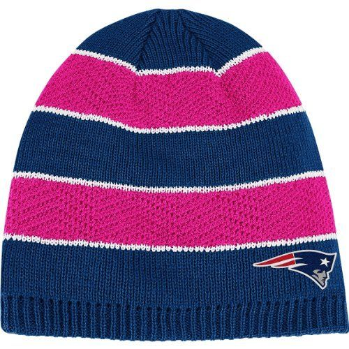 Reebok New England Patriots Women s Breast Cancer Awareness Knit Hat One  Size Fits All by Reebok.  19.99. Knit hat. Decorated with jacquard NFL® ... 565a78384