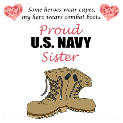 4f563f34 Proud Navy Sister! | Quotes | Army sister, Navy sister, Marine sister