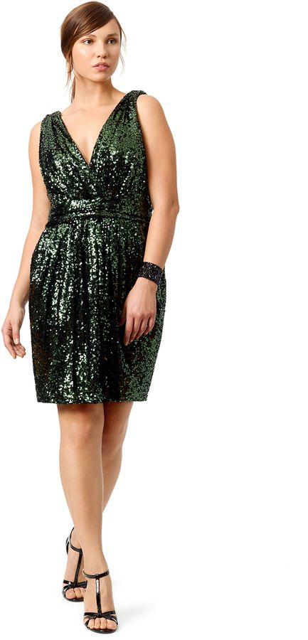 Plus Size Sequin Dress Plus Size Badgley Mischka Sequin Dress By
