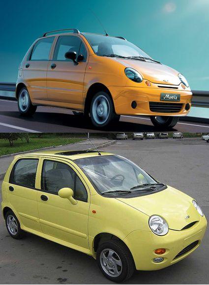Daewoo Matiz Vs Chery Qq Auto Auto S