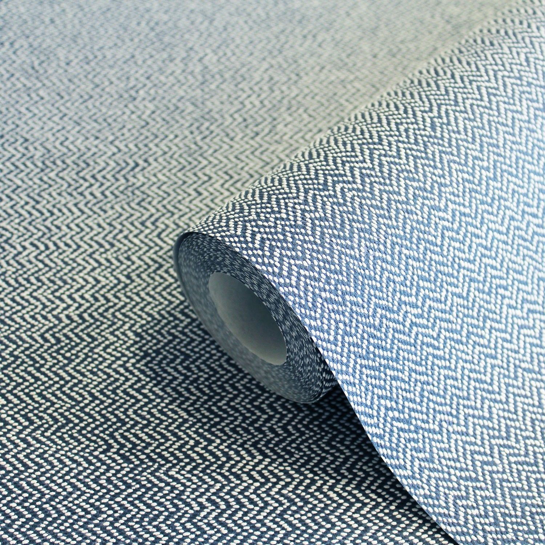 Cotton Tweed Linen Blue Plain Wallpaper Plain Wallpaper Cotton Duvet Cover Grey Linen Bedding