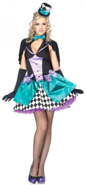 Delightfully Mad Hatter Women's Costume