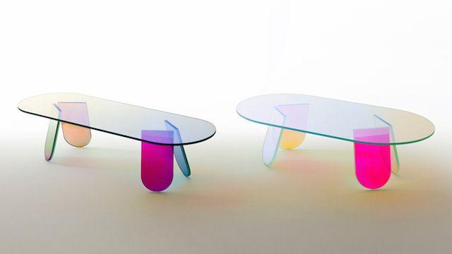 Prismatic Transparent Furniture