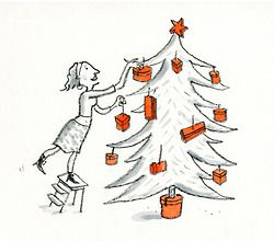 Drawing by Alice Charbin for www.hermes.com