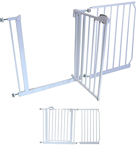iSafe Deluxe Stair Gate 90° Stop Open & AutoClose