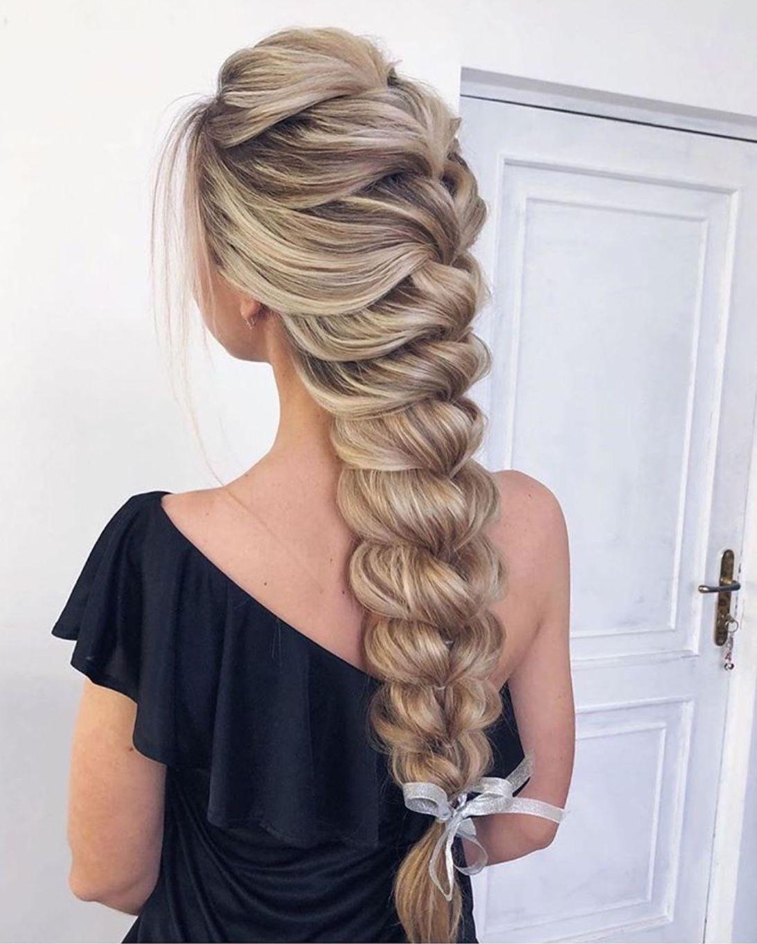 hair braidstyles in 2020   Braids for long hair, Easy ...