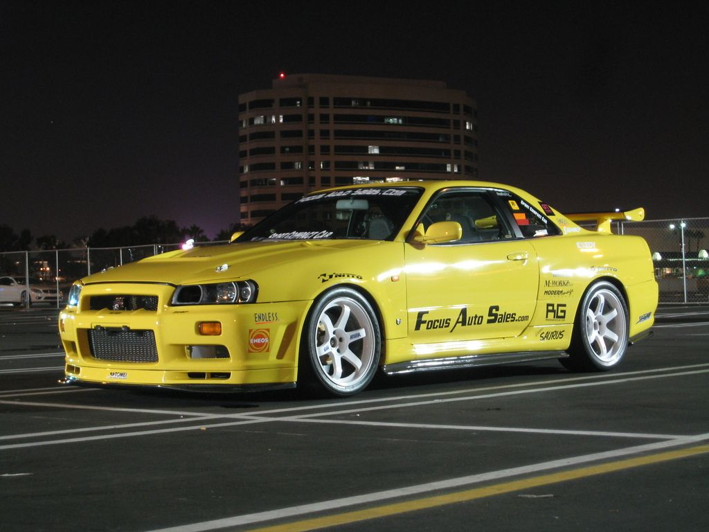 nissan skyline gtr r34 yellow drive pinterest. Black Bedroom Furniture Sets. Home Design Ideas