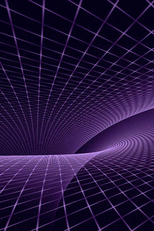 Purple Optical Illusion IPhone Wallpaper