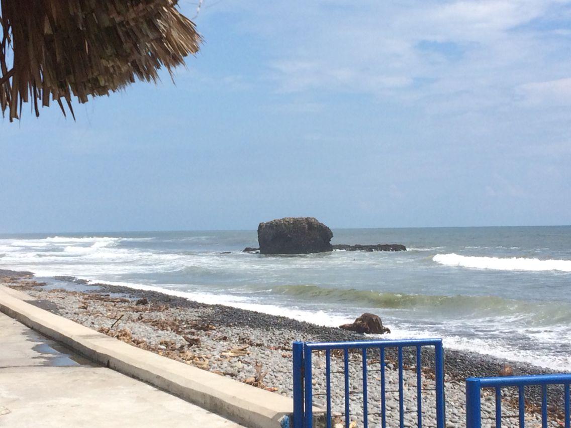 Playa El Sunzal, bello!