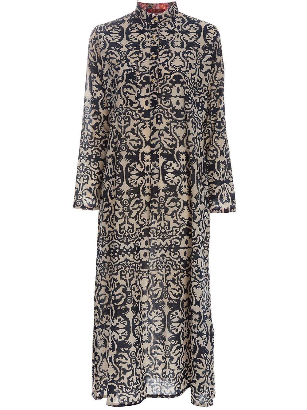 LISA CORTI \'Kurta\' kaftan dress | Gowns . Kaftans . Maxis . | Pinterest