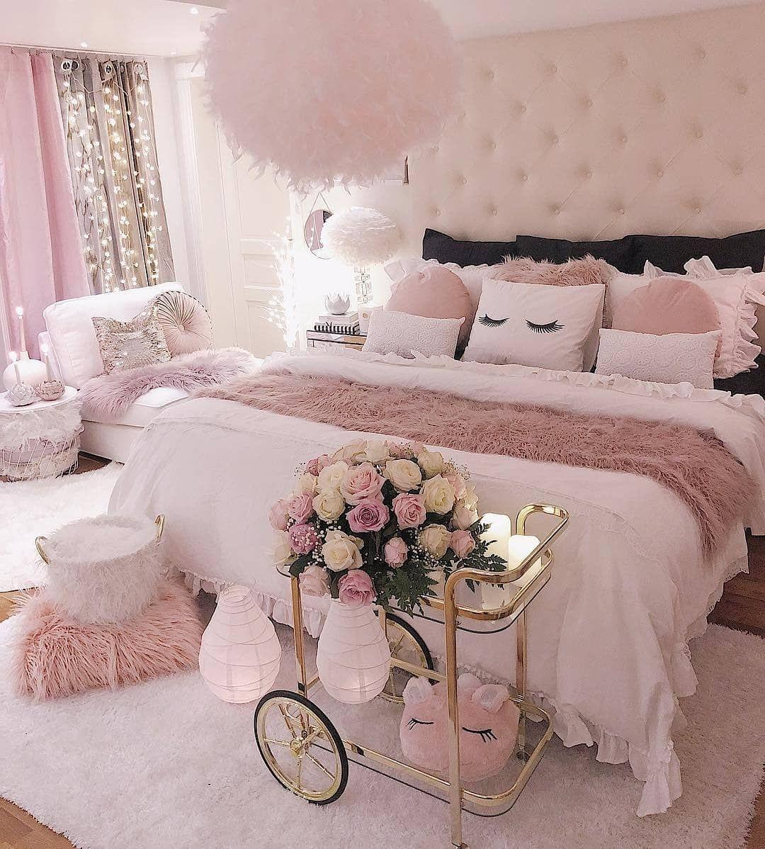 """Romantic Living Room Ideas For Feminine Young Ladies Casa: Pausa Para Feminices On Instagram: """"Bons Sonhos, Meus"""