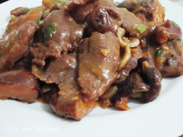 Resep Daging Sapi Jamur Shiitake Masak Teriyaki Resep Daging Sapi Resep Daging Daging Sapi