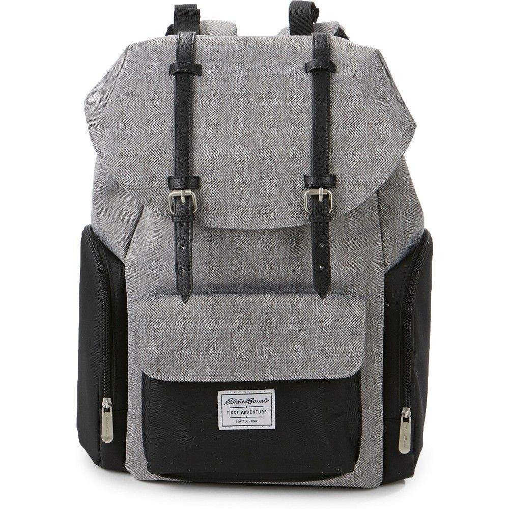 f13d080db7 Multiple compartments and spacious interior make the Eddie Bauer Places and  Spaces Legend Backpack Diaper Bag the ideal companion for baby and parents  on ...