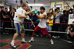 Manny Pacquiao reveals Floyd Mayweather talks collapsed