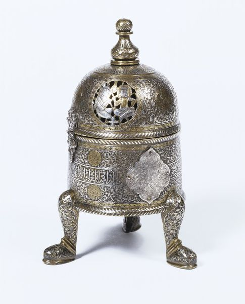 Incense burner | Place of origin: Egypt (possibly, made)  Syria (possibly, made)  Date: 1250-1300 (made)