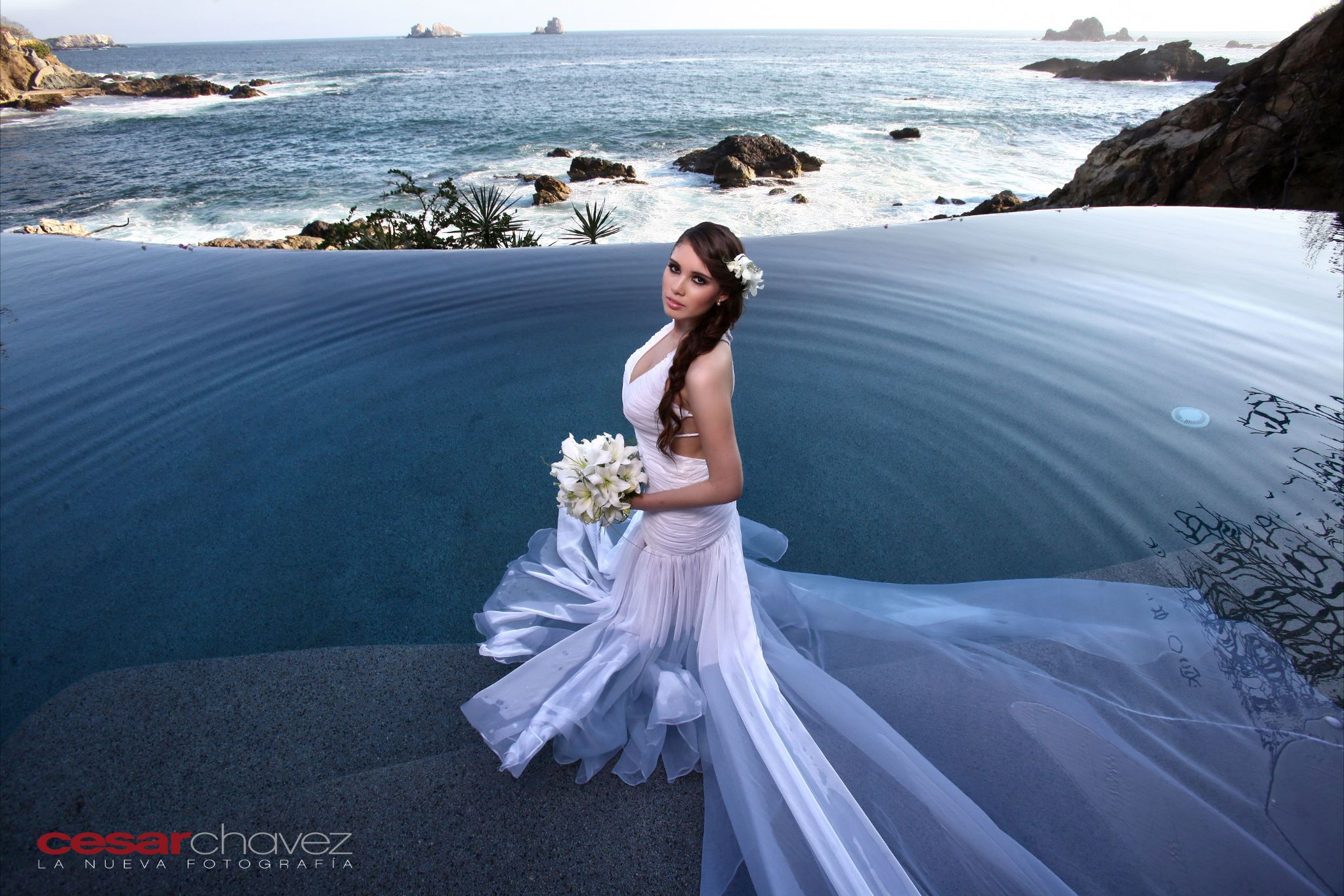 I love this stunning photo of a bride and her wedding dress in our ...
