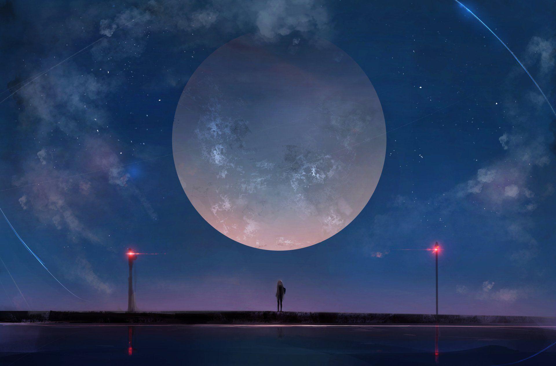 Anime Galaxy Wallpaper Hd Di 2020