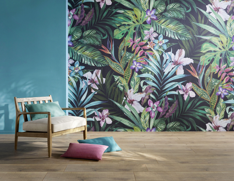 Épinglé par Saint Maclou sur Tendance jungle! | Papier peint, Poser du papier peint et Peinture ...