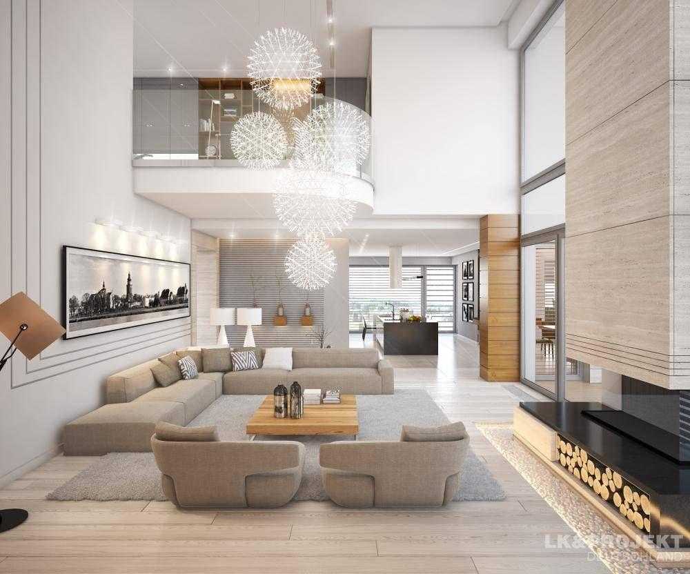 Descubra fotos de Salas de estar Moderno por LK&Projekt GmbH. Encontre em…