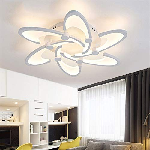 LightInTheBox 6 Lights LED Ceiling Light Painting Finish Flush Mount Lighting Fixture for Home Living Room, Bedroom Decoration Bulb Included is part of bedroom Lighting Led - 6000K
