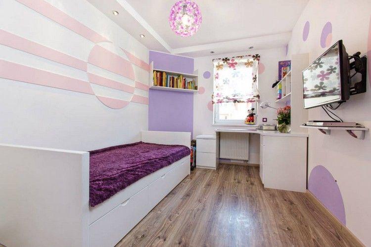 muebles blancos en la habitacin moderna para adolescente