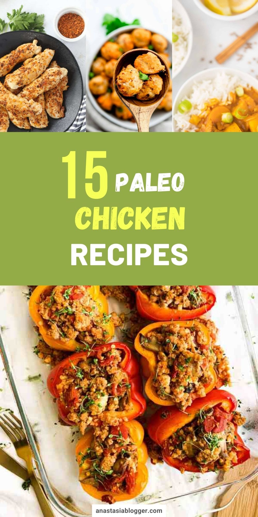 15 Easy Paleo Chicken And Poultry Recipes Paleo Chicken Recipes Easy Easy Paleo Chicken Paleo Chicken Recipes