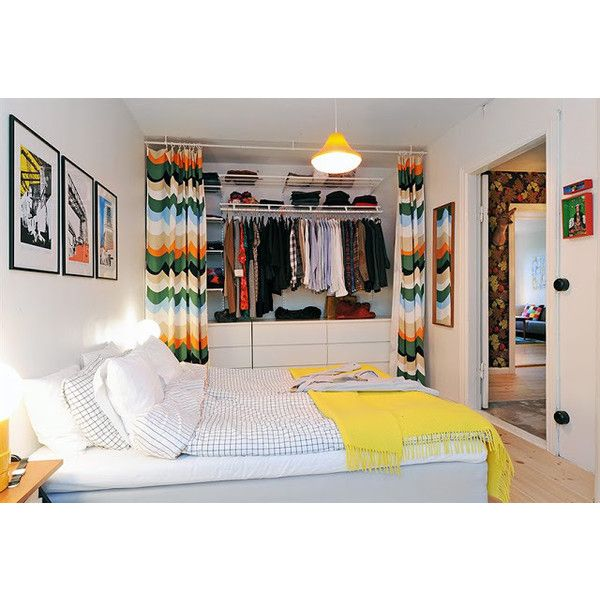 No Closet Worries Liked On Polyvore Bedroom StorageBedroom ClosetsCloset